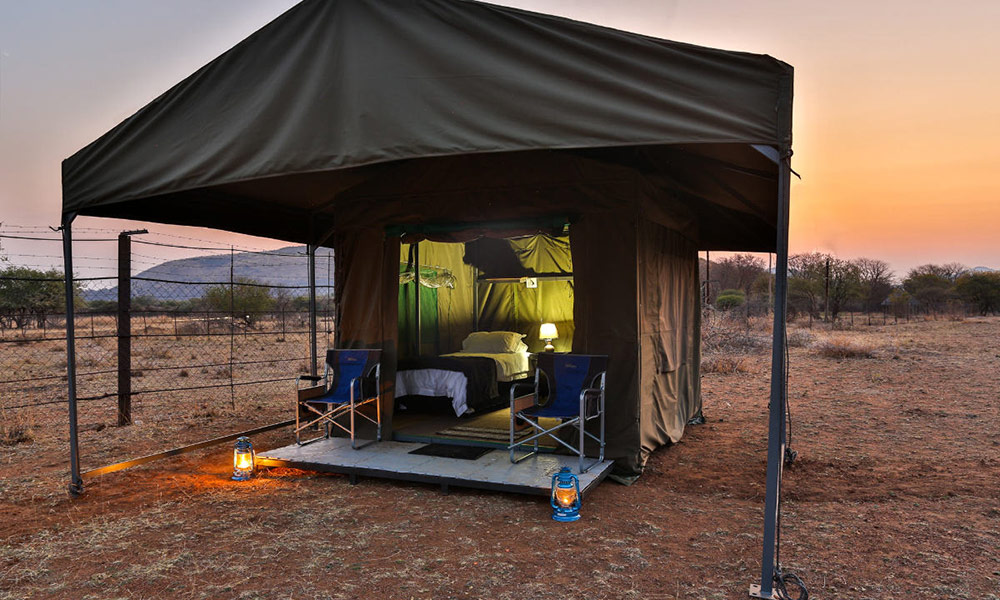 Your private tent.